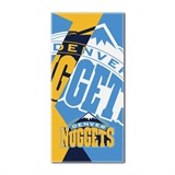 "Denver Nuggets NBA ""Puzzle"" Oversized Beach Towel"
