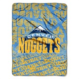 "Denver Nuggets NBA ""Redux"" Micro Raschel Throw"