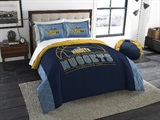 "Denver Nuggets NBA ""Reverse Slam"" Full/Queen Comforter"