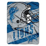 "Detroit Lions ""Deep Slant"" Micro Raschel Throw"