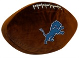 Detroit Lions Football Shaped 3D Pillow
