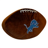 Detroit Lions NFL  Football Shaped 3D Plush Pillow