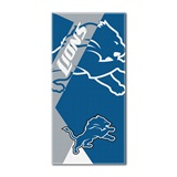 "Detroit Lions ""Puzzle"" Oversized Beach Towel"