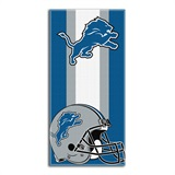"Detroit Lions ""Zone Read"" Beach Towel"