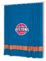 Detroit Pistons MVP Shower Curtain