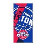 "Detroit Pistons NBA ""Puzzle"" Oversized Beach Towel"