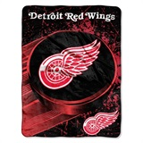 "Detroit Red Wings NHL ""Ice Dash"" Micro Raschel Throw"