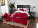 "Detroit Red Wings NHL ""Soft and Cozy"" Full Comforter Set"