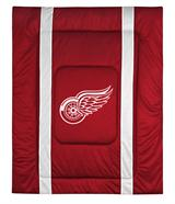 Detroit Red Wings Sidelines Comforter