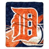 "Detroit Tigers  MLB ""Big Stick"" Sherpa Throw"