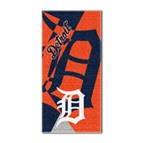 "Detroit Tigers MLB ""Puzzle"" Beach Towel"