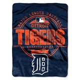 "Detroit Tigers MLB ""Structure"" Micro Raschel Throw"