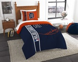 Detroit Tigers MLB Twin Comforter and Sham set
