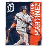 "Detroit Tigers MLB ""Victor Martinez"" Player Silk Touch Throw"