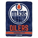 "Edmonton Oilers NHL ""Break Away"" Micro Raschel Throw"