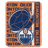 "Edmonton Oilers NHL ""Double Play"" Woven Jacquard Throw"