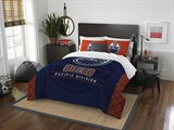 "Edmonton Oilers NHL ""Draft"" Full/Queen Comforter Set"