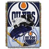 "Edmonton Oilers NHL ""Home Ice Advantage"" Woven Tapestry Throw"