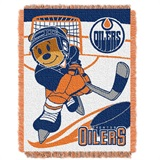 "Edmonton Oilers NHL ""Score Baby""Baby Woven Jacquard Throw"