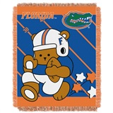 "Florida  Gators NCAA ""Fullback"" Baby Woven Jacquard Throw"