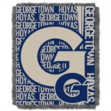 "Georgetown Hoyas NCAA ""Double Play"" Woven Jacquard Throw"