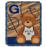 "Georgetown  Hoyas NCAA ""Fullback"" Baby Woven Jacquard Throw"