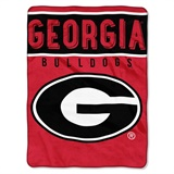 "Georgia Bulldogs NCAA ""Basic"" Raschel Throw"