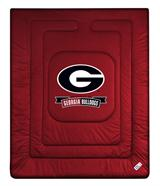 Georgia U Bulldogs Locker Room Comforter
