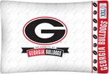 Georgia U Bulldogs Micro Fiber Pillow Case