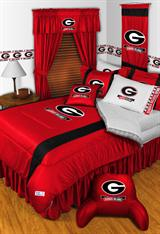Georgia U Bulldogs Sidelines Bed In A Bag