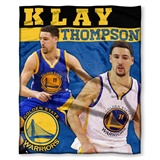 Golden State Warriors Klay Thompson NBA Players HD Silk Touch Throw