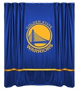 Golden State Warriors Sidelines Shower Curtain