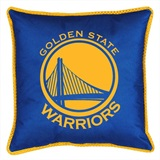 Golden State Warriors Sidelines Toss Pillow