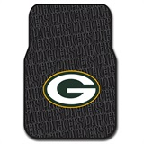 Green Bay Packers Car Floor Mat Set