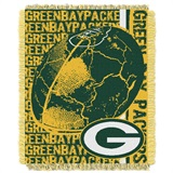 "Green Bay Packers ""Double Play"" Woven Jacquard Throw"