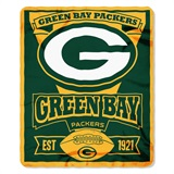 "Green Bay Packers ""Marquee"" Fleece Throw"