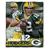 "Green Bay Packers NFL ""Aaron Rodgers"" Players HD Silk Touch Throw"