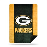"Green Bay Packers NFL ""Denali"" Sliver Knit Throw"