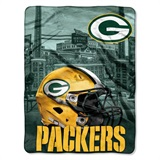 "Green Bay Packers NFL ""Heritage"" Silk Touch Throw"