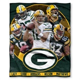 "Green Bay Packers NFL ""Players"" Players HD Silk Touch Throw"