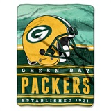 "Green Bay Packers NFL ""Stacked"" Silk Touch Throw"