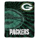 "Green Bay Packers NFL ""Strobe"" Sherpa Throw"