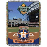 "Houston Astros MLB ""Minute Maid Park"" Stadium Tapestry Throw"