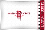 Houston Rockets Micro Fiber Pillow Case Logo