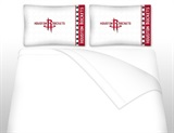 Houston Rockets Micro Fiber Sheet Set Full