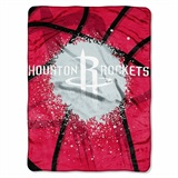"Houston Rockets NBA ""Shadow Play"" Raschel Throw"