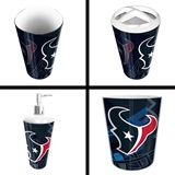 Houston Texans  NFL 4 piece Bath Set