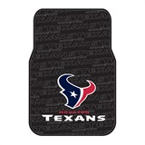 Houston Texans NFL Car Floor Mat Set