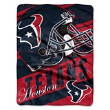 "Houston Texans NFL ""Deep Slant"" Micro Raschel Throw"