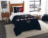"Houston Texans NFL ""Draft"" Twin Comforter Set"